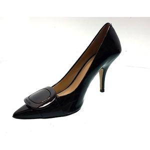 Michael Kors Black Patent Leather Pumps